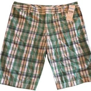 ROXY plaid 'Mandy' shorts/New w/tag/11